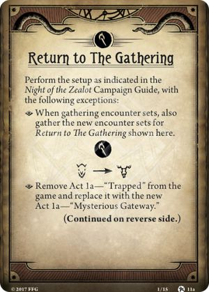 Return to The Gathering
